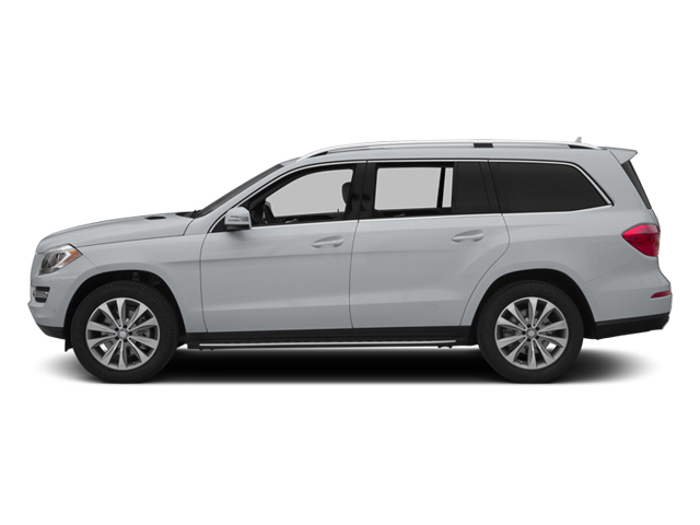 Diamond Silver Metallic 2014 Mercedes-Benz GL-Class Pictures GL-Class Utility 4D GL450 4WD V8 photos side view