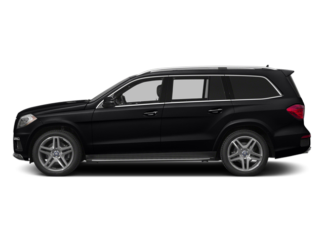 Black 2014 Mercedes-Benz GL-Class Pictures GL-Class Utility 4D GL550 4WD V8 photos side view