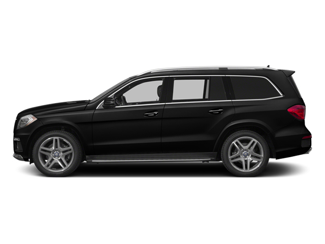 Obsidian Black Metallic 2014 Mercedes-Benz GL-Class Pictures GL-Class Utility 4D GL550 4WD V8 photos side view