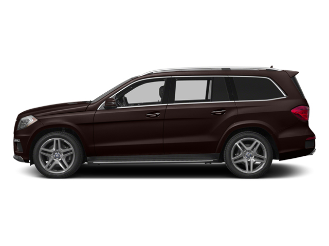Dakota Brown Metallic 2014 Mercedes-Benz GL-Class Pictures GL-Class Utility 4D GL550 4WD V8 photos side view