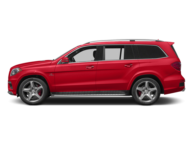 Cinnabar Red Metallic 2014 Mercedes-Benz GL-Class Pictures GL-Class Utility 4D GL63 AMG 4WD V8 photos side view