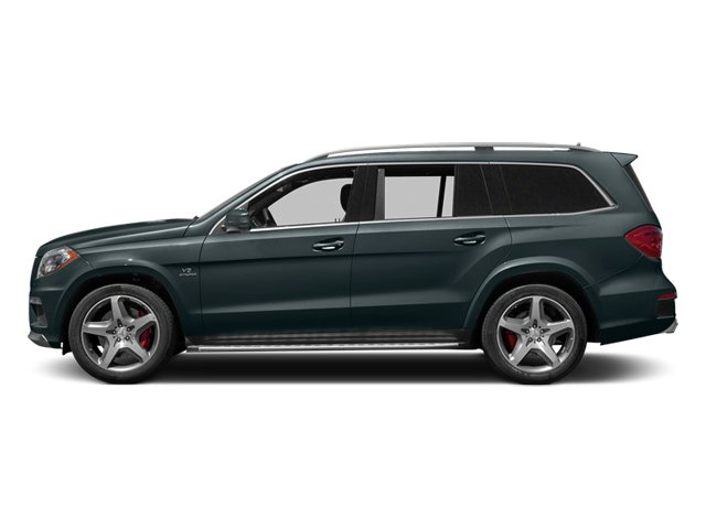 Steel Gray Metallic 2014 Mercedes-Benz GL-Class Pictures GL-Class Utility 4D GL63 AMG 4WD V8 photos side view