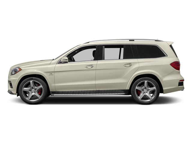 Diamond White Metallic 2014 Mercedes-Benz GL-Class Pictures GL-Class Utility 4D GL63 AMG 4WD V8 photos side view