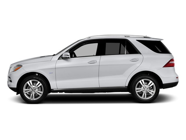Polar White 2014 Mercedes-Benz M-Class Pictures M-Class Utility 4D ML350 2WD V6 photos side view