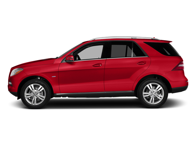 Cinnabar Red Metallic 2014 Mercedes-Benz M-Class Pictures M-Class Utility 4D ML350 2WD V6 photos side view