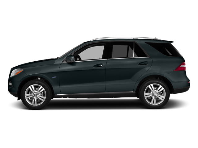 Steel Gray Metallic 2014 Mercedes-Benz M-Class Pictures M-Class Utility 4D ML350 AWD V6 photos side view
