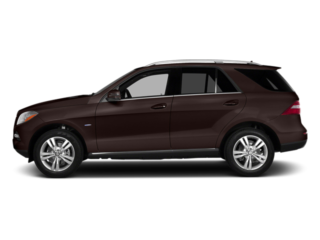 Dakota Brown Metallic 2014 Mercedes-Benz M-Class Pictures M-Class Utility 4D ML350 2WD V6 photos side view