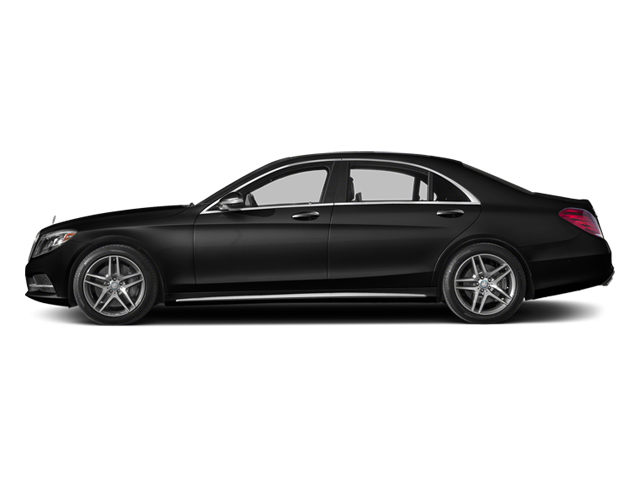 Obsidian Black Metallic 2014 Mercedes-Benz S-Class Pictures S-Class Sedan 4D S550 AWD photos side view