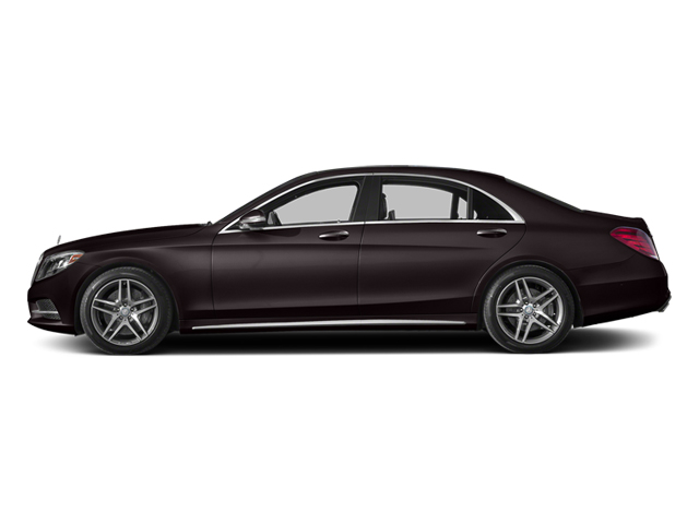 Ruby Black Metallic 2014 Mercedes-Benz S-Class Pictures S-Class Sedan 4D S550 AWD photos side view