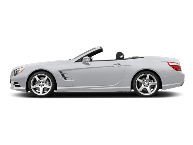 Polar White 2014 Mercedes-Benz SL-Class Pictures SL-Class Roadster 2D SL550 V8 Turbo photos side view