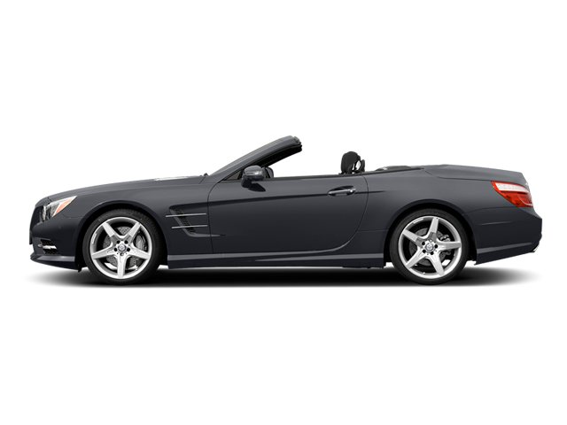 Shadow Grey Matte 2014 Mercedes-Benz SL-Class Pictures SL-Class Roadster 2D SL550 V8 Turbo photos side view