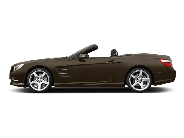 Dolomite Brown 2014 Mercedes-Benz SL-Class Pictures SL-Class Roadster 2D SL550 V8 Turbo photos side view