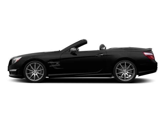 Obsidian Black Metallic 2014 Mercedes-Benz SL-Class Pictures SL-Class Roadster 2D SL63 AMG V8 Turbo photos side view