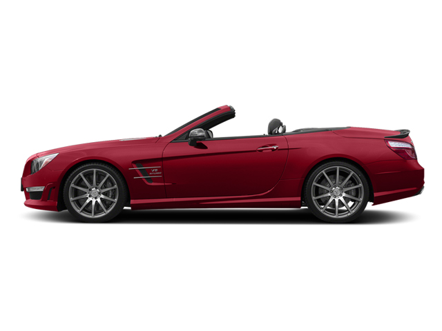 Mars Red 2014 Mercedes-Benz SL-Class Pictures SL-Class Roadster 2D SL63 AMG V8 Turbo photos side view