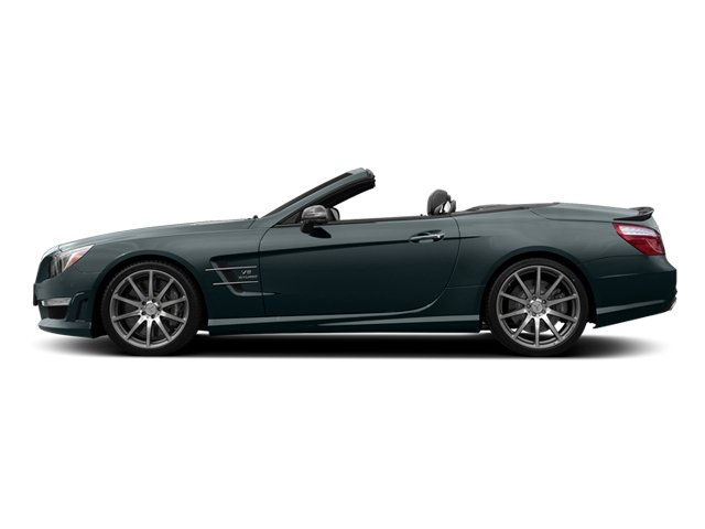 Steel Gray Metallic 2014 Mercedes-Benz SL-Class Pictures SL-Class Roadster 2D SL63 AMG V8 Turbo photos side view