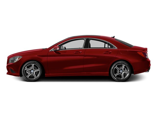 Jupiter Red 2014 Mercedes-Benz CLA-Class Pictures CLA-Class Sedan 4D CLA250 AWD I4 Turbo photos side view