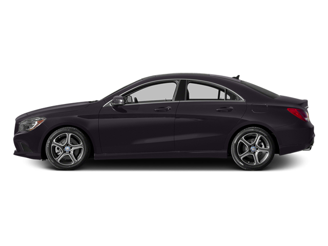 Northern Lights Violet Metallic 2014 Mercedes-Benz CLA-Class Pictures CLA-Class Sedan 4D CLA250 AWD I4 Turbo photos side view