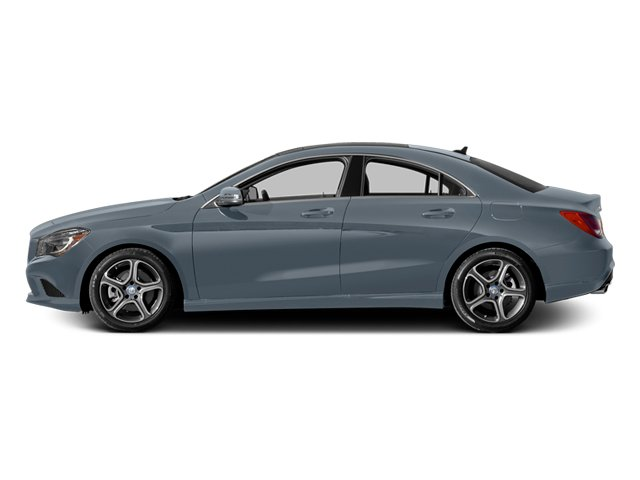 Universe Blue Metallic 2014 Mercedes-Benz CLA-Class Pictures CLA-Class Sedan 4D CLA250 AWD I4 Turbo photos side view
