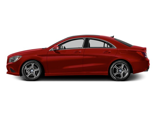 Patagonia Red 2014 Mercedes-Benz CLA-Class Pictures CLA-Class Sedan 4D CLA250 AWD I4 Turbo photos side view