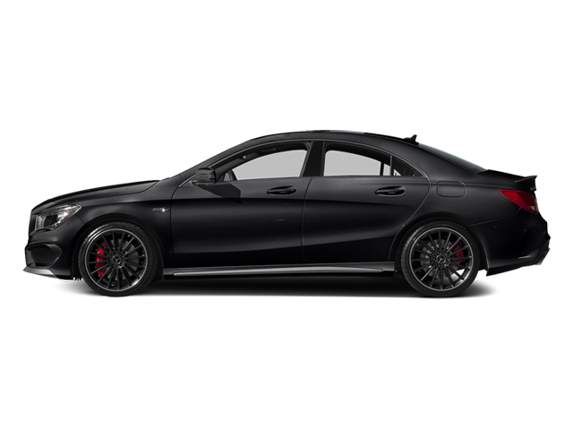 Cosmos Black Metallic 2014 Mercedes-Benz CLA-Class Pictures CLA-Class Sedan 4D CLA45 AMG AWD I4 Turbo photos side view