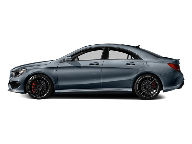Universe Blue Metallic 2014 Mercedes-Benz CLA-Class Pictures CLA-Class Sedan 4D CLA45 AMG AWD I4 Turbo photos side view