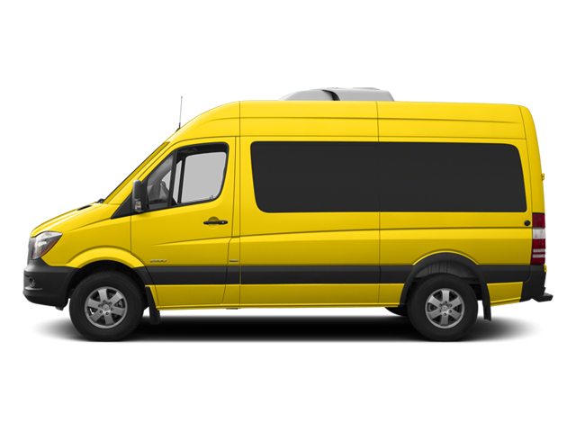 Broom Yellow 2014 Mercedes-Benz Sprinter Passenger Vans Pictures Sprinter Passenger Vans Passenger Van photos side view