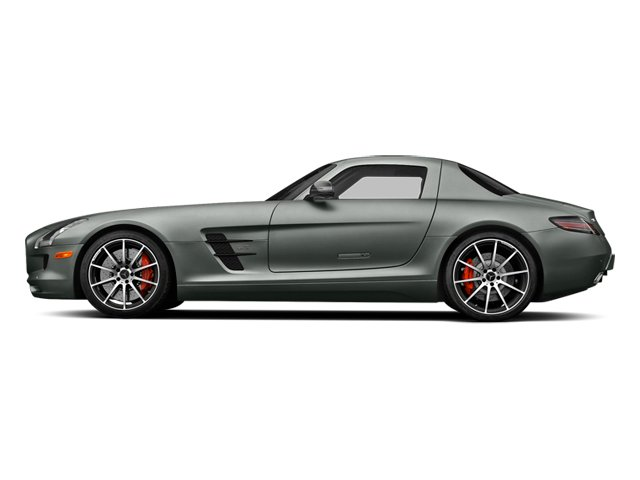 AMG Imola Gray 2014 Mercedes-Benz SLS AMG GT Pictures SLS AMG GT 2 Door Coupe photos side view