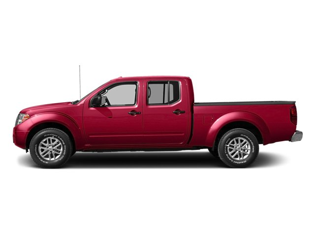 Lava Red 2014 Nissan Frontier Pictures Frontier Crew Cab Desert Runner 2WD photos side view