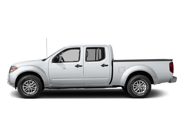 Glacier White 2014 Nissan Frontier Pictures Frontier Crew Cab Desert Runner 2WD photos side view