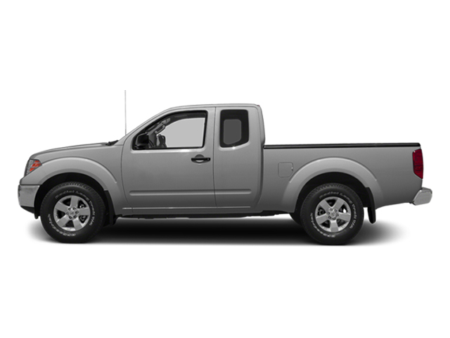 Brilliant Silver 2014 Nissan Frontier Pictures Frontier King Cab SV 2WD photos side view