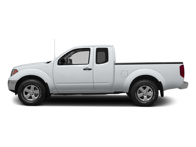 Glacier White 2014 Nissan Frontier Pictures Frontier King Cab SV 2WD photos side view