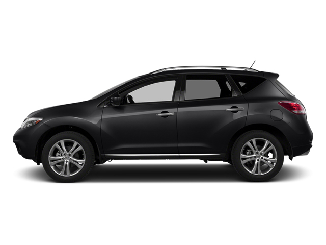 Sapphire Black Metallic 2014 Nissan Murano Pictures Murano Utility 4D LE AWD V6 photos side view