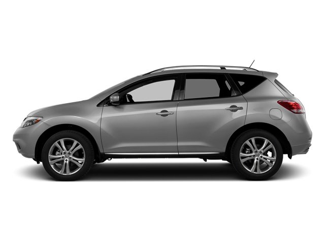 Brilliant Silver Metallic 2014 Nissan Murano Pictures Murano Utility 4D LE AWD V6 photos side view