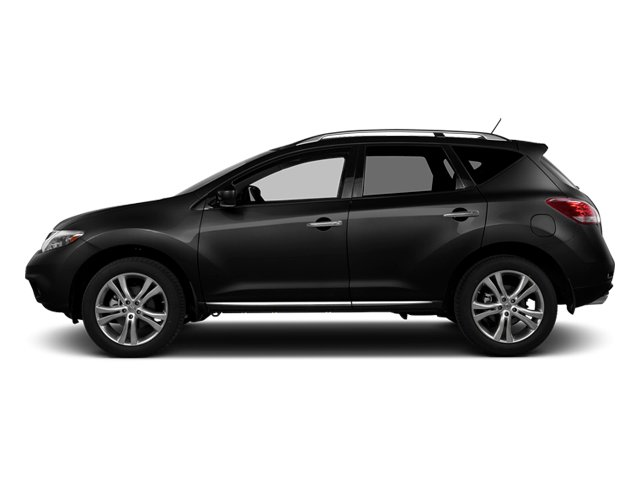 Super Black 2014 Nissan Murano Pictures Murano Utility 4D LE AWD V6 photos side view