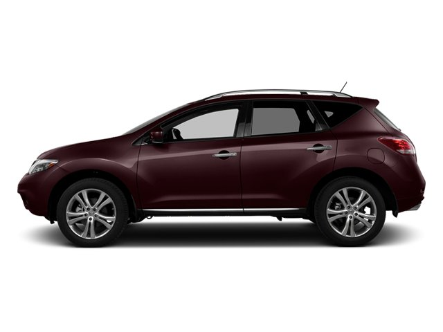 Midnight Garnet Metallic 2014 Nissan Murano Pictures Murano Utility 4D LE AWD V6 photos side view