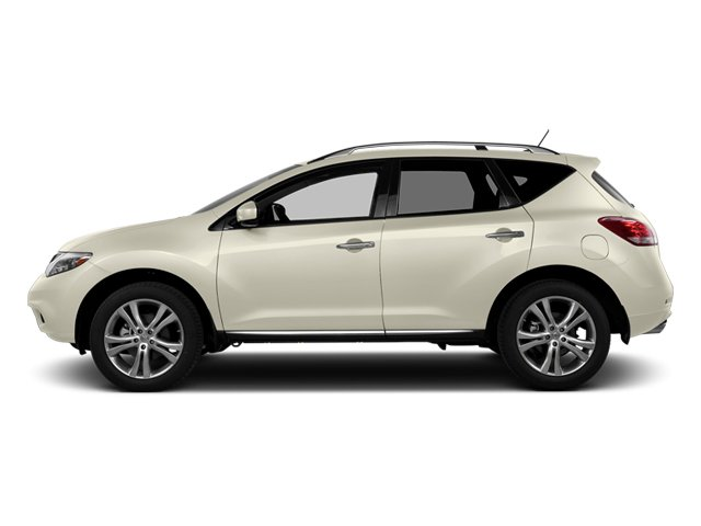 Pearl White 2014 Nissan Murano Pictures Murano Utility 4D LE AWD V6 photos side view