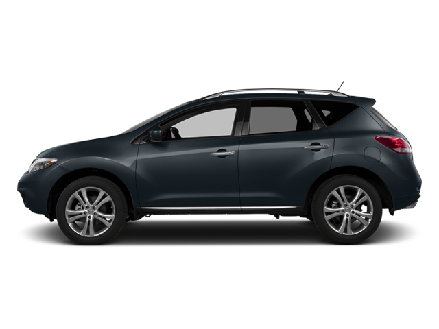 Graphite Blue Metallic 2014 Nissan Murano Pictures Murano Utility 4D LE AWD V6 photos side view