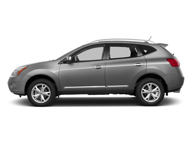 Platinum Graphite 2014 Nissan Rogue Select Pictures Rogue Select Utility 4D S 2WD I4 photos side view