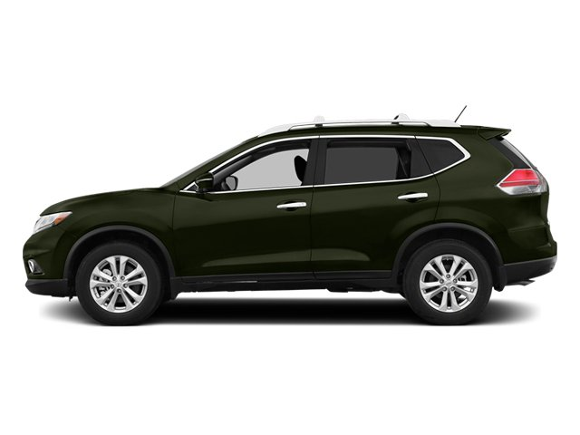 Midnight Jade 2014 Nissan Rogue Pictures Rogue Utility 4D SL AWD I4 photos side view
