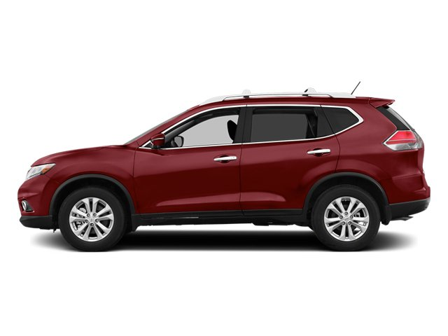 Cayenne Red 2014 Nissan Rogue Pictures Rogue Utility 4D SL AWD I4 photos side view