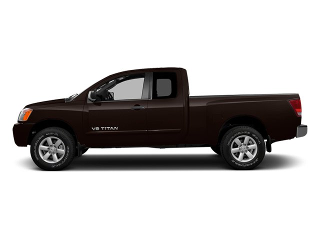Espresso Black Metallic 2014 Nissan Titan Pictures Titan King Cab S 4WD photos side view