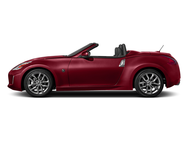 Solid Red 2014 Nissan 370Z Pictures 370Z Roadster 2D Touring V6 photos side view