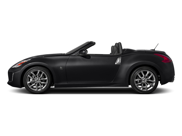 Magnetic Black Metallic 2014 Nissan 370Z Pictures 370Z Roadster 2D Touring V6 photos side view