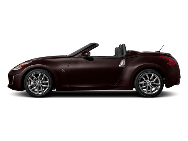 Black Cherry Metallic 2014 Nissan 370Z Pictures 370Z Roadster 2D Touring V6 photos side view