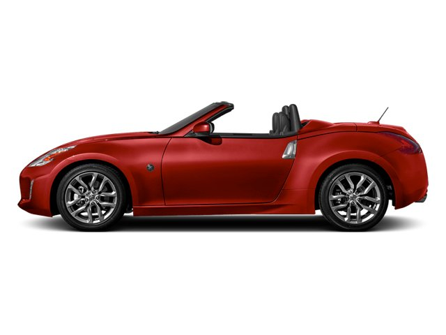 Magma Red Metallic 2014 Nissan 370Z Pictures 370Z Roadster 2D Touring V6 photos side view
