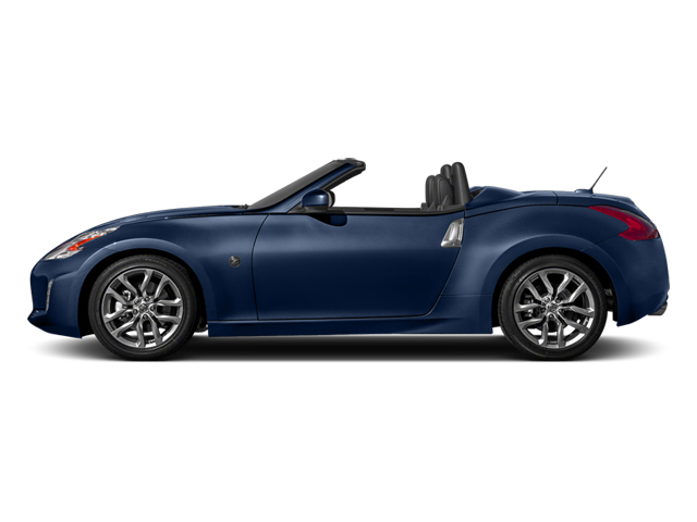 Midnight Blue Metallic 2014 Nissan 370Z Pictures 370Z Roadster 2D Touring V6 photos side view