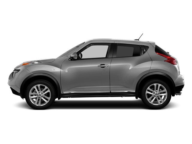 Brilliant Silver 2014 Nissan JUKE Pictures JUKE Utility 4D NISMO 2WD I4 Turbo photos side view