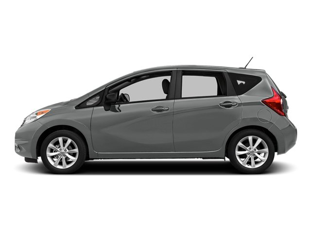 Magnetic Gray Metallic 2014 Nissan Versa Note Pictures Versa Note Hatchback 5D Note S Plus I4 photos side view