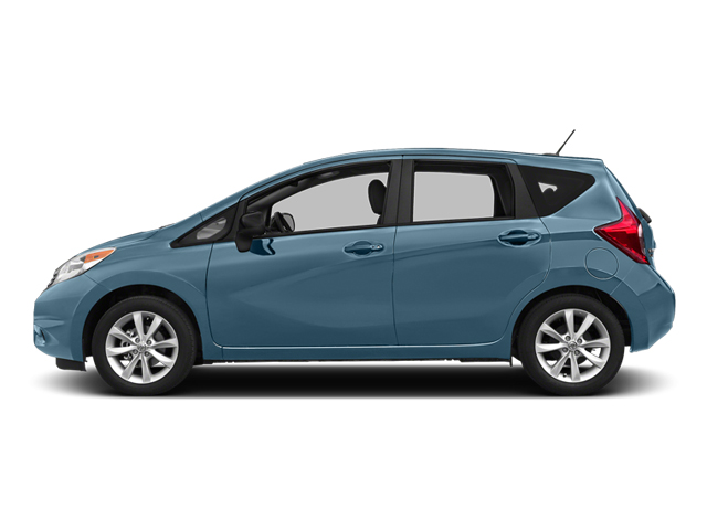 Morningsky Blue Metallic 2014 Nissan Versa Note Pictures Versa Note Hatchback 5D Note S Plus I4 photos side view