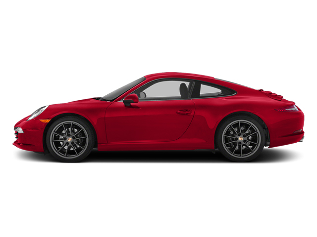 Guards Red 2014 Porsche 911 Pictures 911 Coupe 2D H6 photos side view